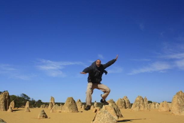 Viajando a los Pinaculos del Oeste de Australia