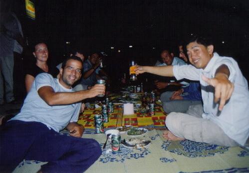 Cena de Nochebuena en Siem Reap
