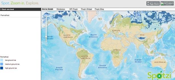 Spotzi-mapa