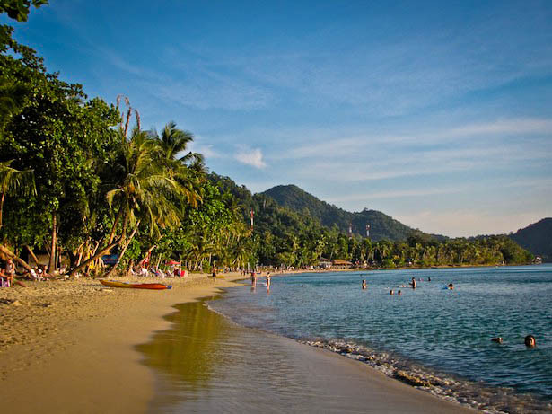 Lonely Beach en Koh Chang en Tailandia