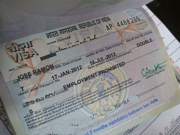 Visado para India