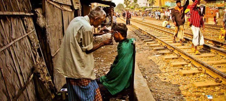 cortar el pelo en Dhaka