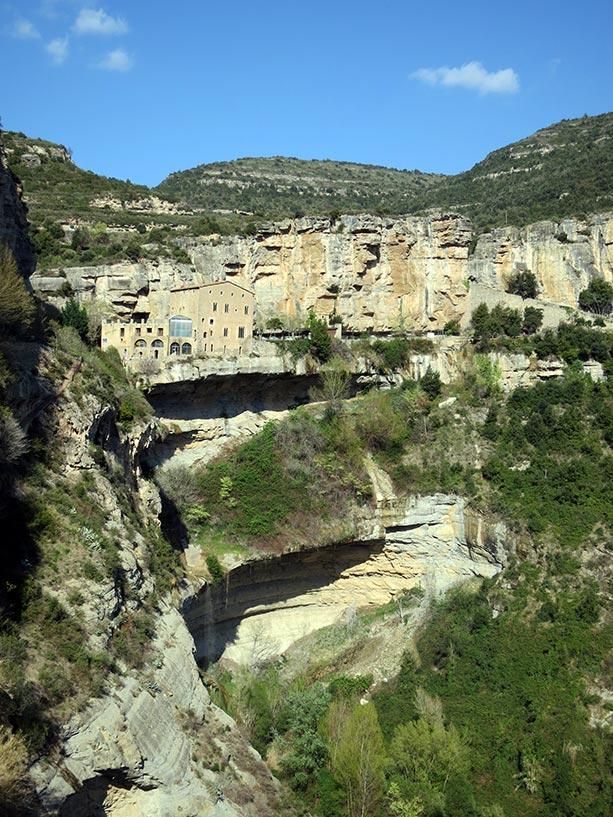 El monasterio de Sant Miquel del Fai
