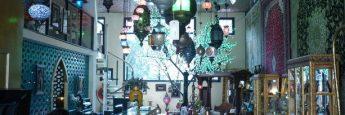 Recepción del Hotel Bazar de Rotterdam.