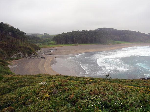 la playa de Frejulfe