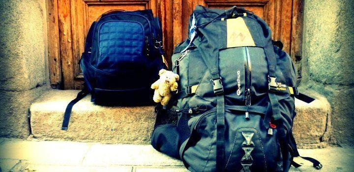 Las mochilas de un mochilero