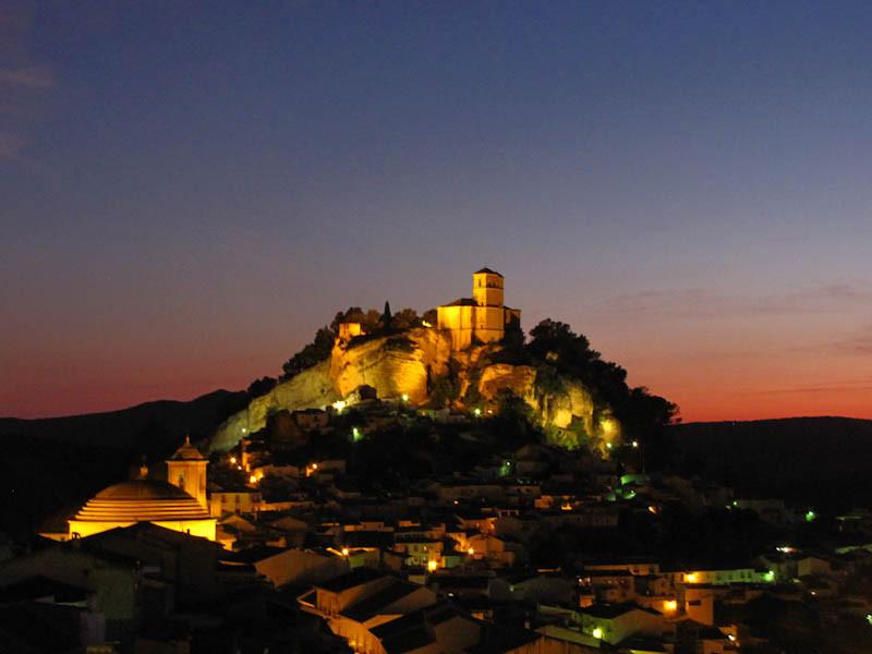 Vista de El Centinela en Montefrío Granada