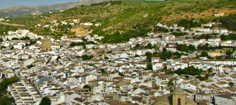 Vista panorámica de Montefrío en Granada