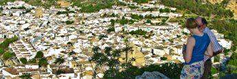 Vistas de Montefrío en Granada desde El Centinela