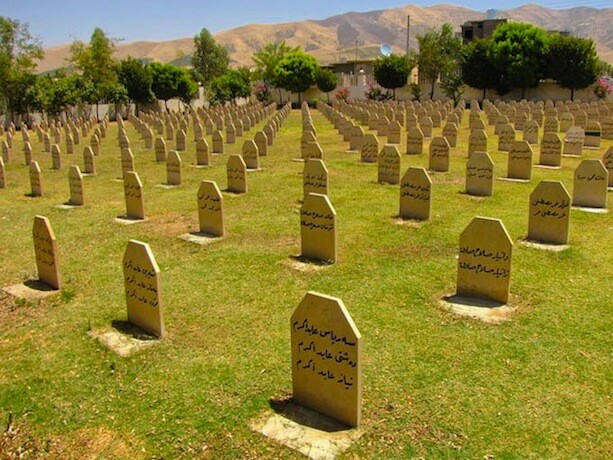 Cementerio de Halabja