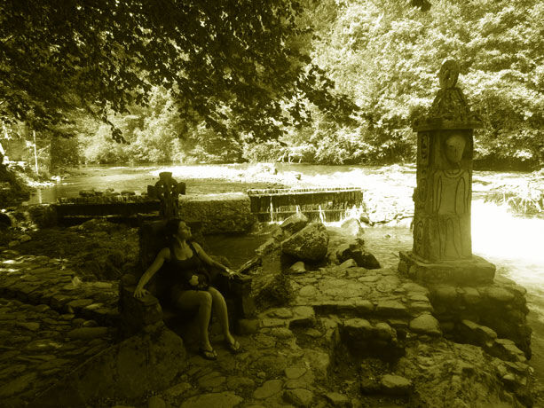 El jard n de piedra un lugar m gico en ari ge viajablog for El jardin magico