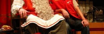 Con Papa Noel en Laponia