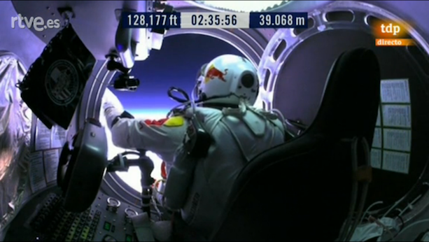 Félix Baumgartner Red Bull Stratos