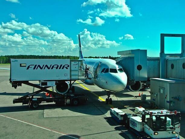 Vuelo Finnair Helsinki Rovaniemi