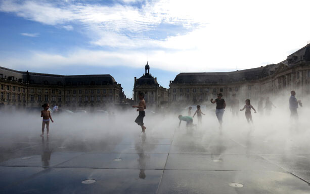 plaza agua