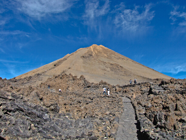 Ascenso al Teide desde el funicular