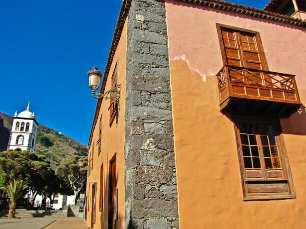 Casco antiguo de Garachico en Tenerife