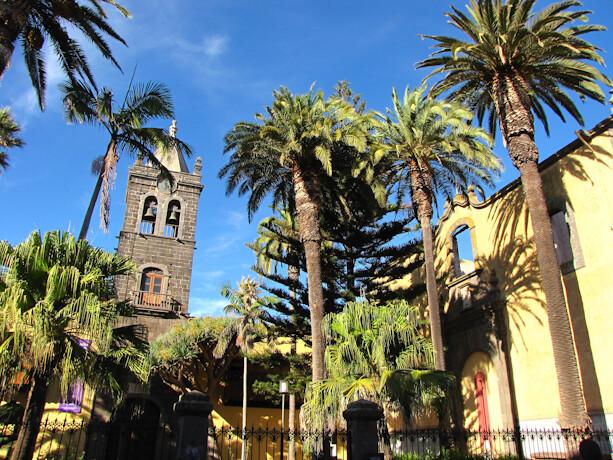 Instituto Cabrera Pinto y Antiguo Convento de San Agustín en La Laguna, Tenerife