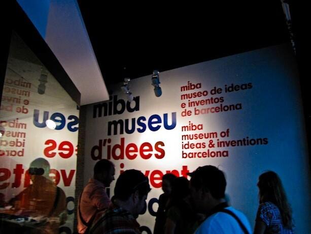 MIBA Museo Ideas Inventos Barcelona