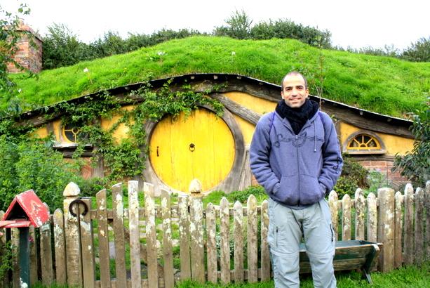 Uno de los agujeros hobbit de la Comarca