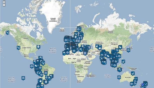Mapa de Viajes Viajablog