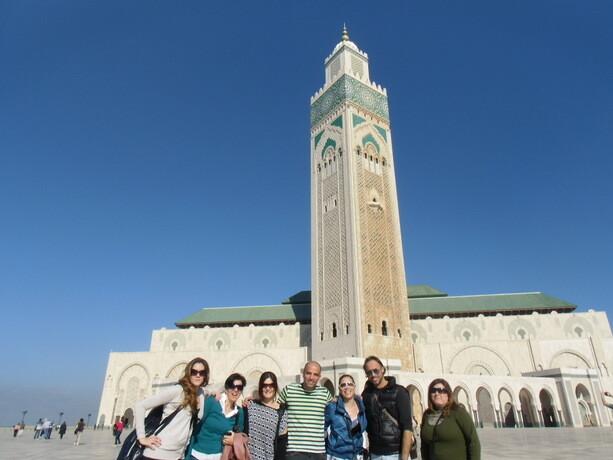 Durante nuestra visita a Casablanca admiramos su impresionante mezquita