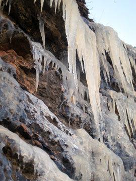 hielo-carretera