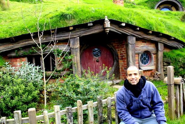 Creo recordar que ésta era la casa de Sam Gamyi, cuando vuelve para quedarse al final de El Retorno del Rey