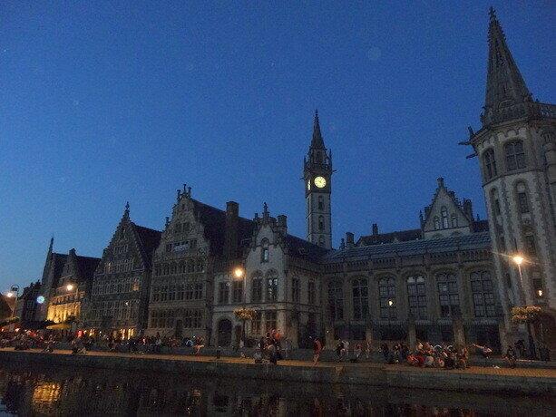 Gante iluminado es un proyecto que resalta la belleza de esta ciudad inigualable