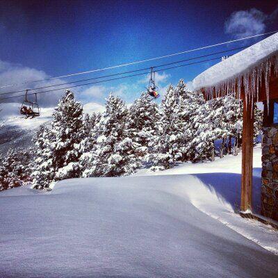 Pude disfrutar de uno de los mejores días de esquí de mi vida en Andorra