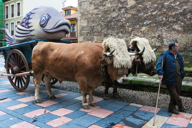 Entierro de la Sardina Avilés