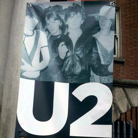 U2 en los inicios Dublin
