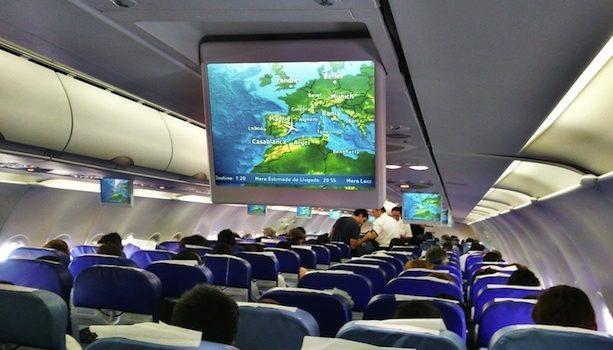 Interior Cabina Avión
