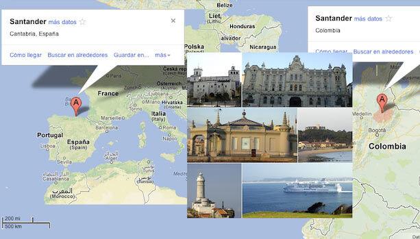 Santander en Colombia y España