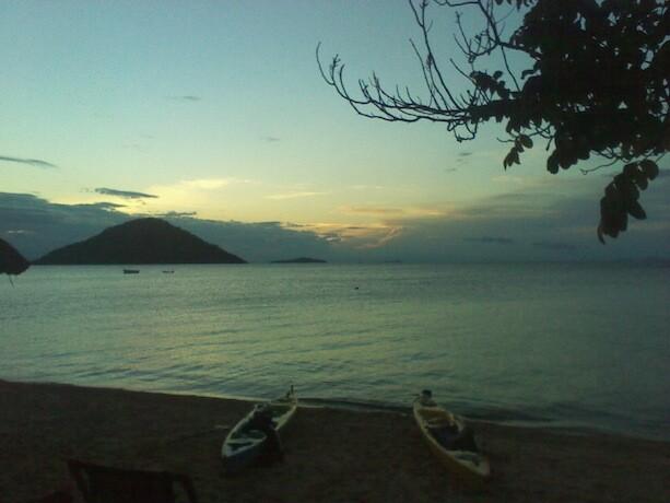Atardecer en el Lago Malawi