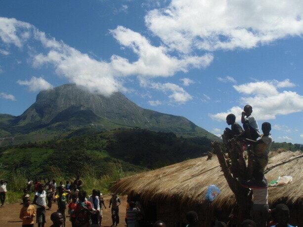 Los niños de las montañas de Gurue, Mozambique