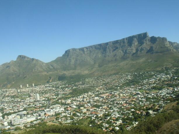 La mítica Table Mountain es la imagen más conocida de Ciudad del Cabo