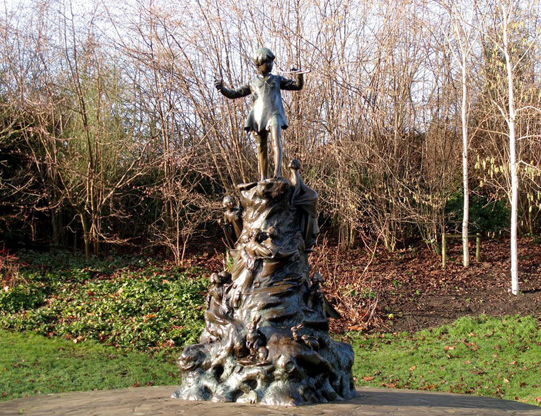 La estatua a Peter Pan en Hyde Park