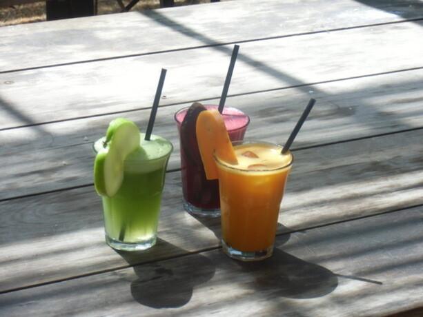 Los tres zumos espectaculares que probé