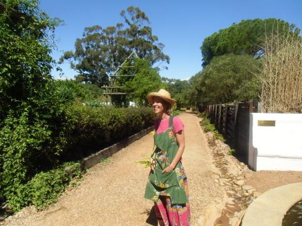 Nuestra guía. Una enamorada de los jardines de Babilonia