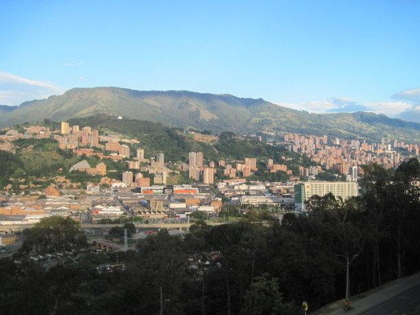 Vistas del Norte de Medellín desde el Pueblito Paisa