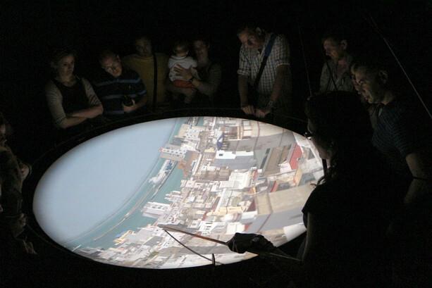Cámara Oscura de la Torre Távira en Cádiz