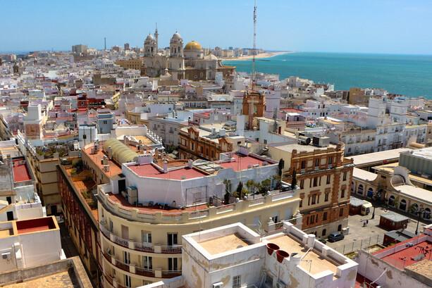 Cádiz desde la Torre Távira