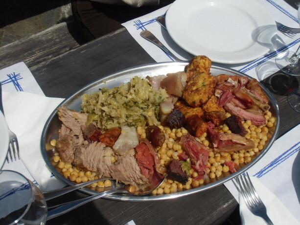 El sabrosísimo cocido lebaniego que comimos en Fuente Dé