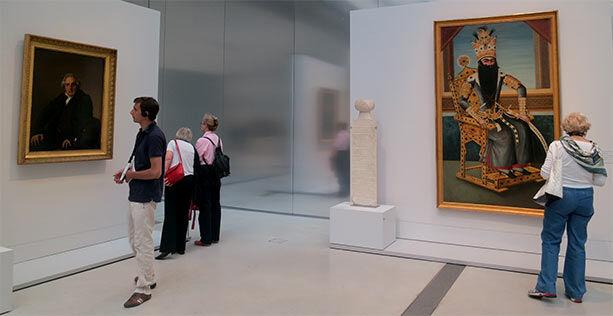 Comparativa del arte en Francia e Irán en la misma época