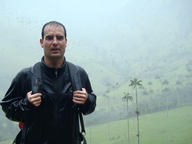 El trekking en el valle del Cócora fue pasado por agua