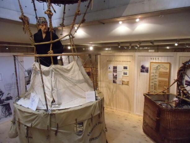 Solomon Andrée fue el jefe de una de las expediciones más famosas de la historia sueca