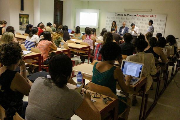 Aula del Curso de Verano Blogs Turismo