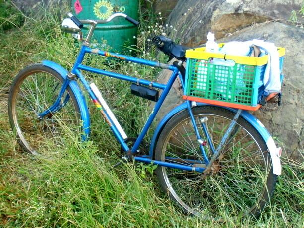 ....Y su bicicleta