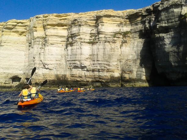 Acceso desde el Mar al Inland Sea Gozo Malta